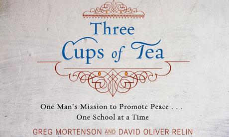 three cups of tea report Greg mortenson, author of three cups of tea, said tuesday he owes a debt of gratitude to the people who first raised allegations that he mishandled money from the charity he created and.
