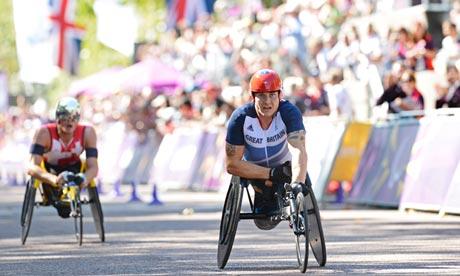 David Weir, Paralympics marathon