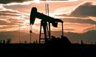 fracking oil pump