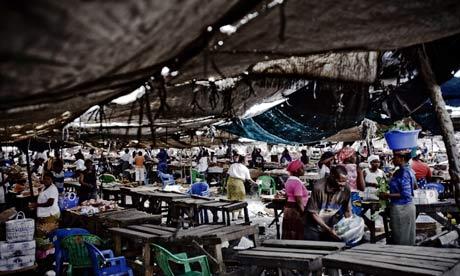 Roque Santeiro market, Angola