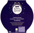 Asda Extra Special 6 month matured luxury Christmas pudding