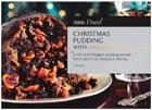 Tesco Finest Christmas pudding