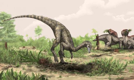 Artist rendering of Nyasasaurus parringtoni dinosaur