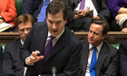 Chancellor George Osborne Autumn statement