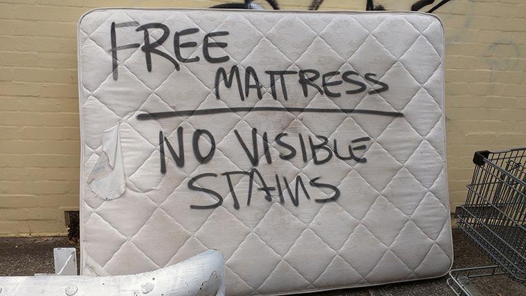 Shit London: Mattress
