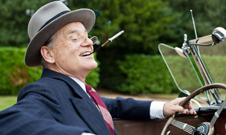 Bill Murray as Franklin D Roosevelt in a scene from Hyde Park on Hudson