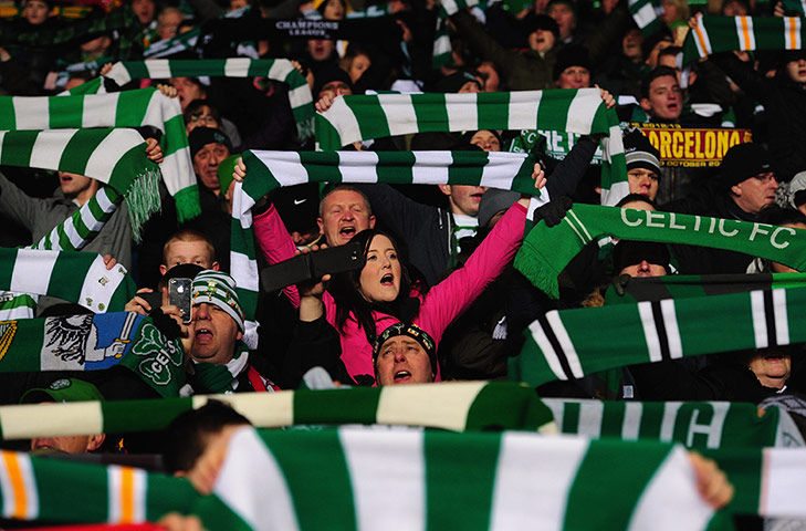 30 Famous Celtic fans - YouTube