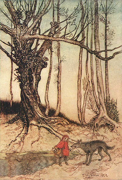 Illustrations: Arthur Rackham illustration