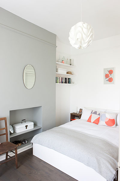 Feature Wall Light Grey : Interiors: four shades of grey - in pictures Life and style The Guardian