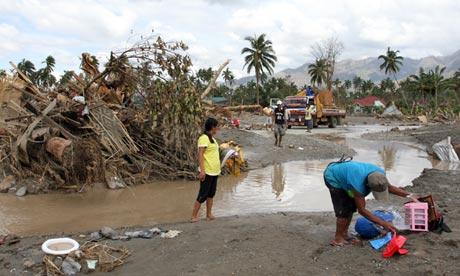 Typhoon Bopha, Philippines