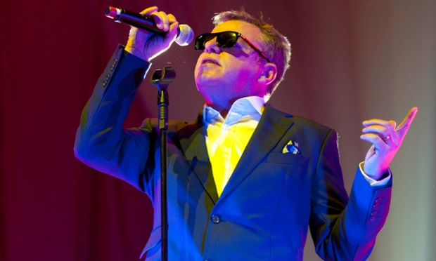 Graham 'Suggs' McPherson of Madness performs during their 2012 The Charge Of The Mad Brigade UK tour at Nottingham Capital FM Arena last night.