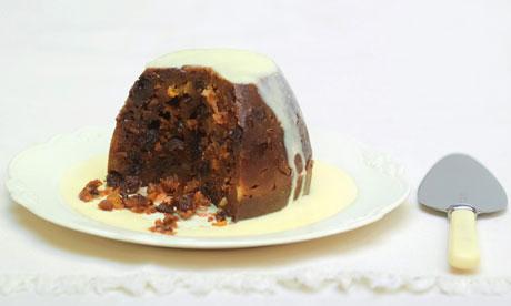 Melrose and Morgan Christmas pudding