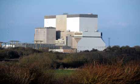 Hinkley Point power station in Somerset