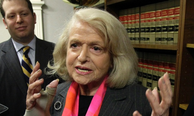 Edith Windsor, whose Defense of Marriage Act case is to be reviewed by the Supreme Court