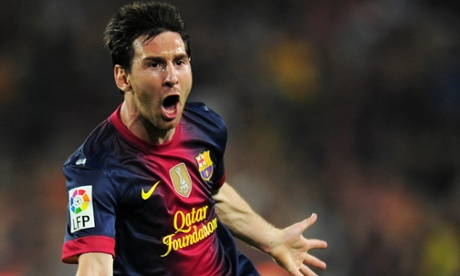 100 best soccer players of 2013