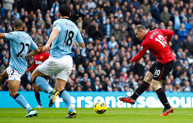sport3: Manchester City v Manchester United - Barclays Premier League