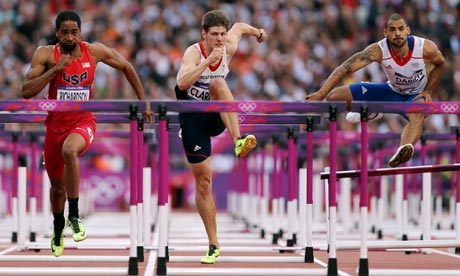 Athletics men's 110m hurdles at the London 2012 Olympic Games