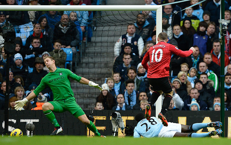 footy: Man City v Man Utd