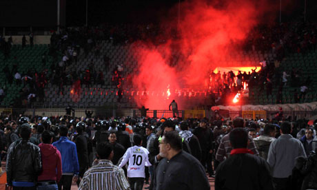 Egypt football match violence