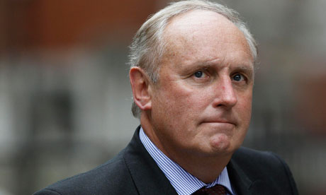 Daily Mail editor-in-chief Paul Dacre arrives at the Leveson Inquiry