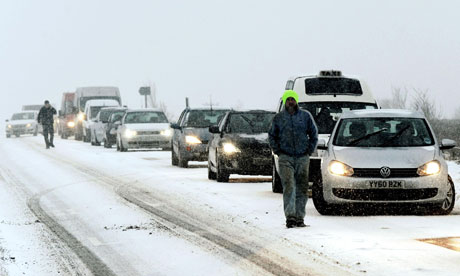 Cars on the A169 between Pickering and Whitby