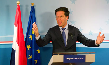 Mark Rutte, Dutch prime minister