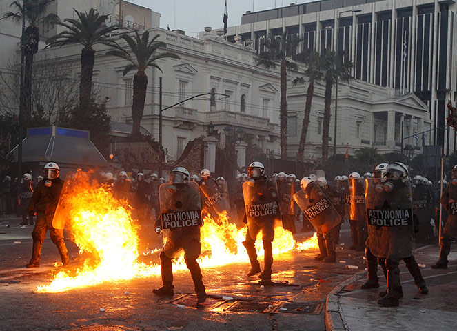 anti austerity greece