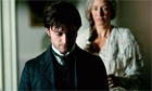 Daniel Radcliffe and Janet McTeer in The Woman in Black