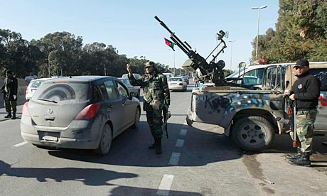 of Libya's revolution on