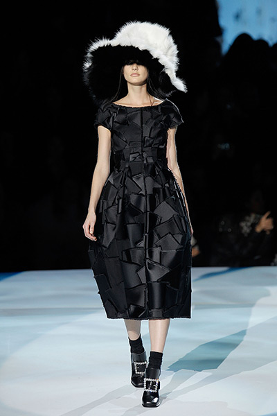 Marc Jacobs: The runway at the Marc Jacobs Fall 2012 collection