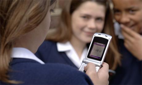 texting at school