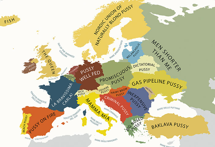 Stereotype maps: Stereotype maps