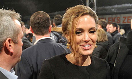 Angelina jolie receives threats over in the land of blood and honey