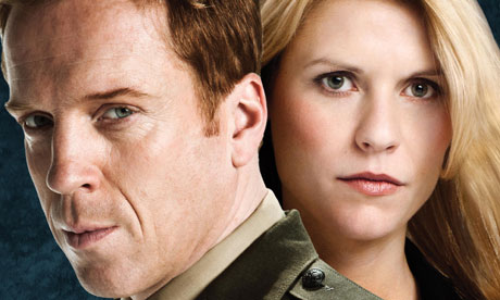 Damian Lewis and Claire Danes in Homeland. Photo: Michael Muller