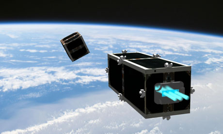 A Swiss janitor satellite to tackle space junk