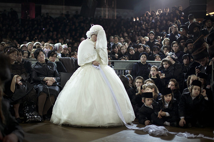 Ultra orthodox jewish wedding world news the guardian