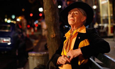 John Hurt as Quentin Crisp in An Englishman In New York