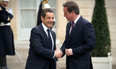 Sarkozy and Cameron