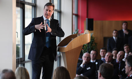 David Cameron in Edinburgh