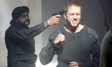 Damian Lewis gun to his head