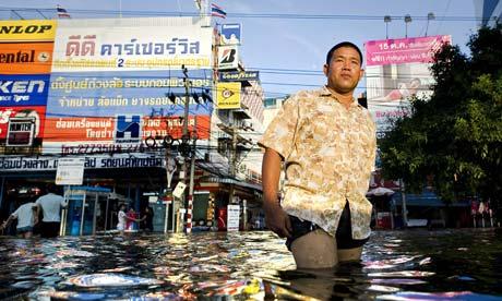 flood waters Bangkok