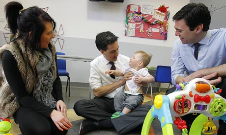 Miliband visits Greater Manchester