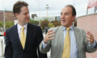 Simon Hughes and Nick Clegg