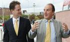 Simon Hughes and Nick Clegg