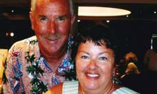 Peter Rippington and his wife, Sharon