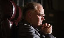 Leonardo DiCaprio as J Edgar Hoover in Clint Eastwood