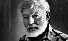 Author Ernest Hemingway.  (Photo by John