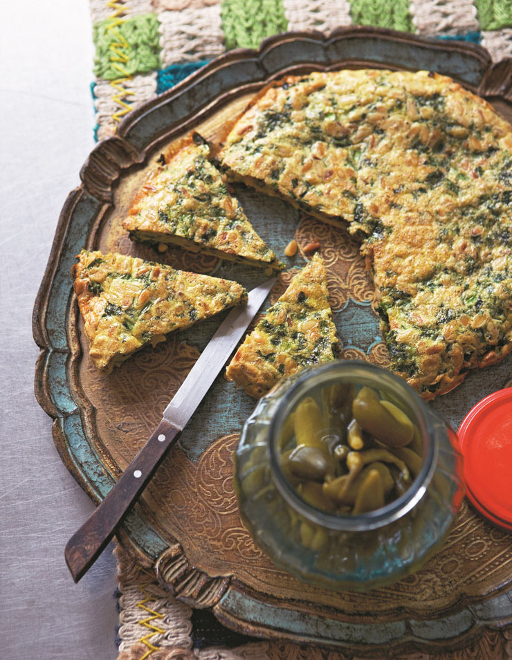 Kookoo sabzi or herb omelette recipe | Life and style | The Guardian
