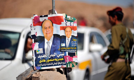 Election posters in Yemen