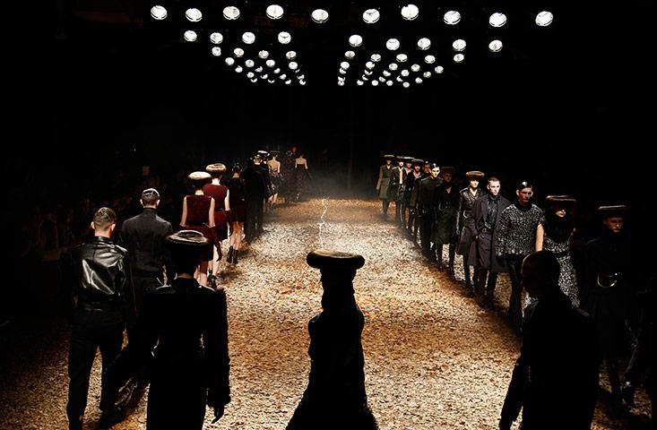 Alexander McQueen show: Alexander McQueen show